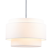 Tiered Drum Pendant - Small