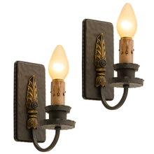 Later Classical Revival Candle Sconces c1935