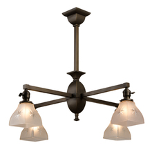 Essential Mission-Style 4-Light Chandelier