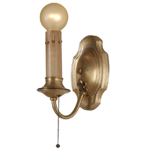 Simple Colonial Revival Wall Sconce c1925